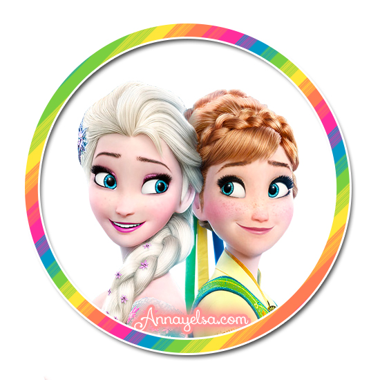 Stickers de Frozen Fever