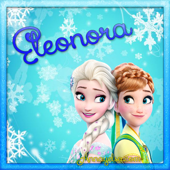 Imagen de Frozen con nombre Eleonora