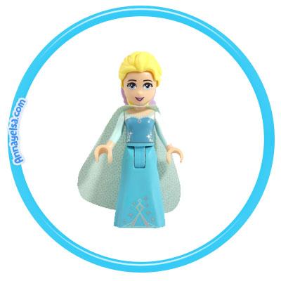Etiquetas Frozen Lego Elsa