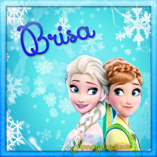 Imagen de Frozen con nombre Brisa