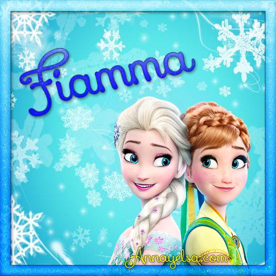 Imagen de Frozen con nombre Fiamma
