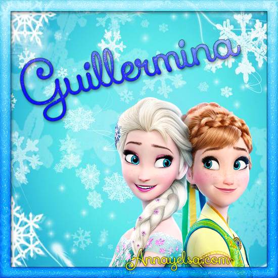 Imagen de Frozen con nombre Guillermina