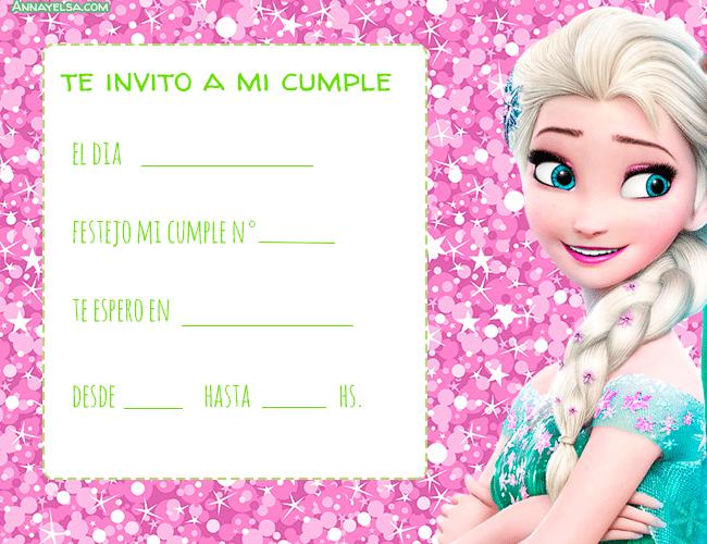 Invitaciones De Cumpleanos De Frozen Tu Sitio De Frozen
